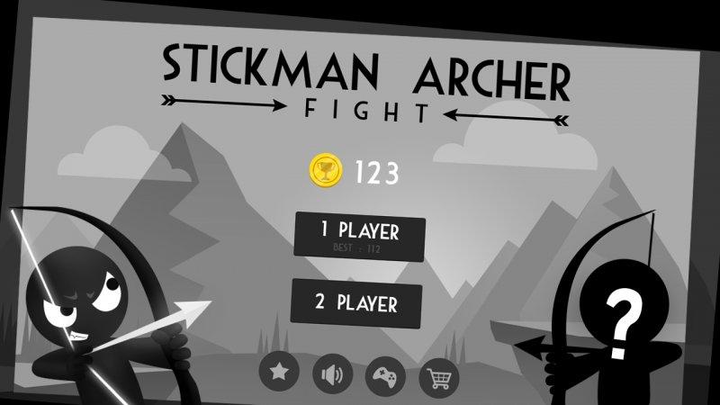 Stickman Archer Fight Screenshot