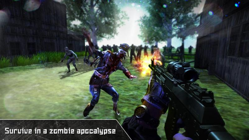 Last Dead Z Day: Zombie Sniper Survival Screenshot