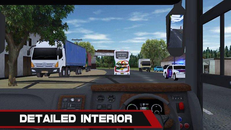Mobile Bus Simulator Screenshot