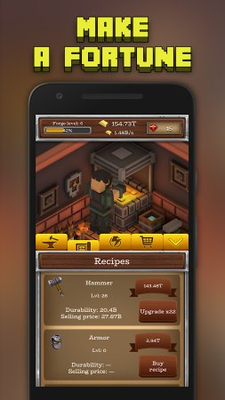 ForgeCraft - Idle Tycoon Screenshot
