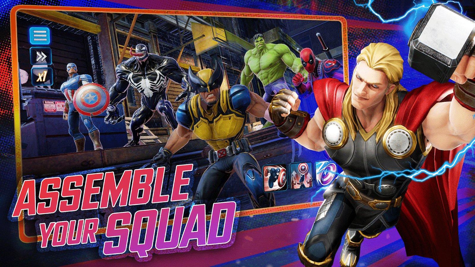 Marvel игры скачать на андроид