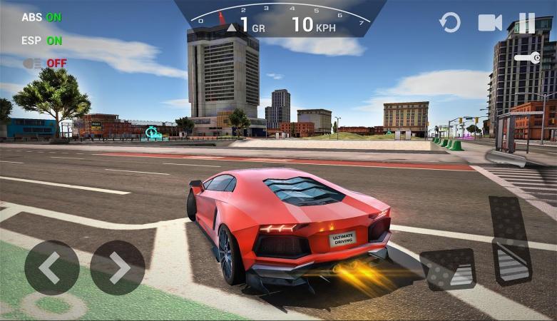 скачать игры на андроид extreme car driving simulator много денег