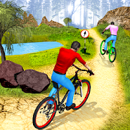 MTB Downhill Cycle Race