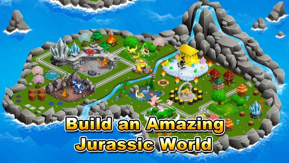 Jurassic world alive скачать на андроид