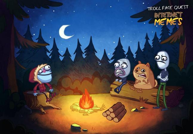 Troll Face Quest Internet Memes Screenshot