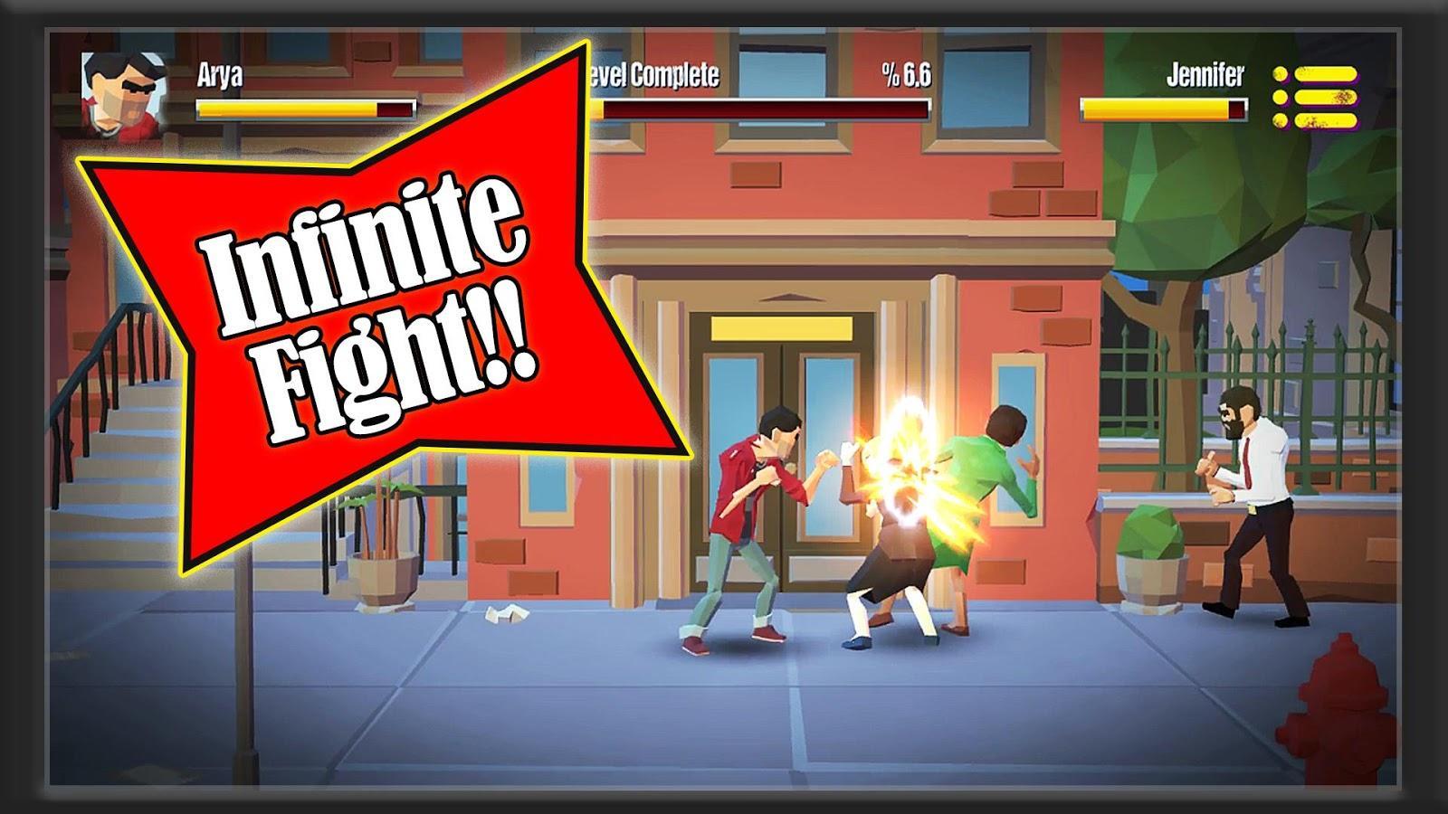 City Fighter vs Street Gang скачать 1.0 на Android Изменения в Человеке