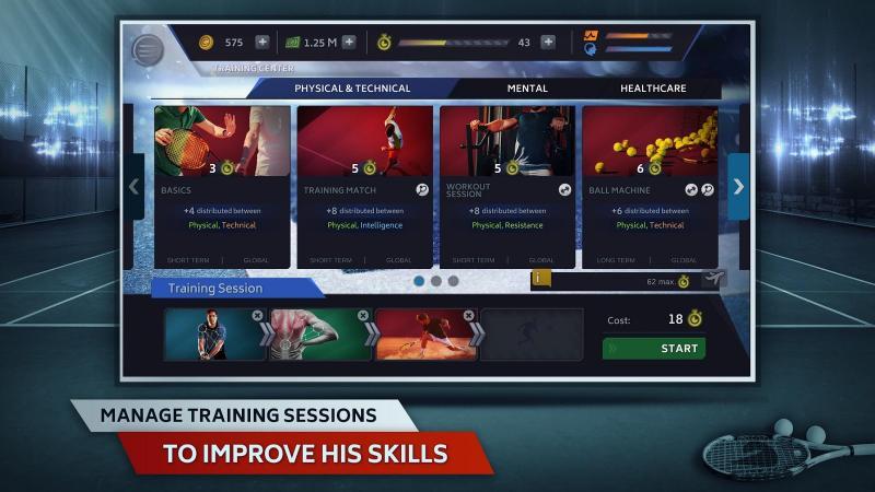 Tennis Manager 2018 Screenshot