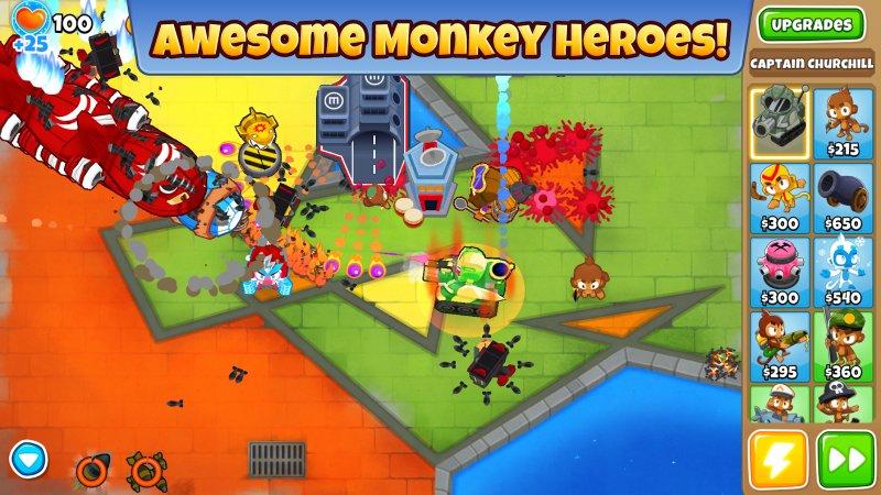 обезьянка игра на андроид