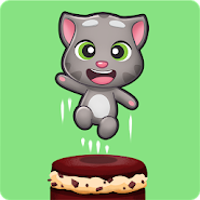 Talking Tom Cake Jump