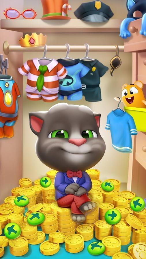 скачать игры для андроид мод много денег кот том