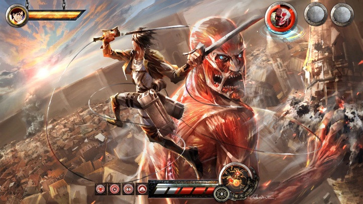 Attack On Titan Wings Of Freedom V1 0 For Psp