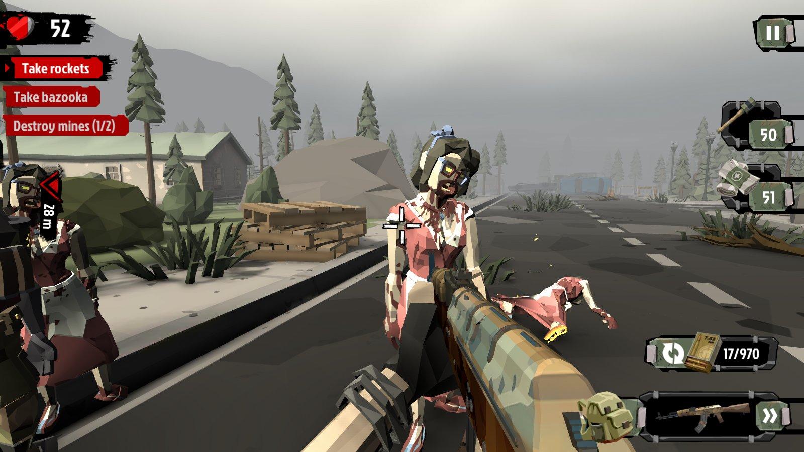 The Walking Zombie 2: Zombie shooter + MOD