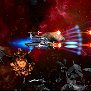 3D Space Shooter:  Bullet Hell Meja Infinity