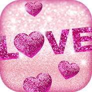 Glitter Love Wallpaper