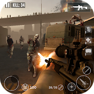 Dead Zombie Frontier War Survival 3D