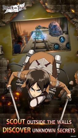 скачать игру атака титанов на андроид