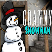 Horror Snowman granny game