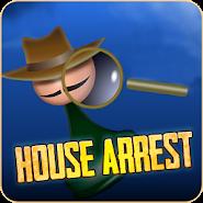 House Arrest  detective board game