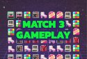Fight Back to the 80's - Match 3 Battle Royale