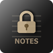 VIP Notes - secured notepad with attachments