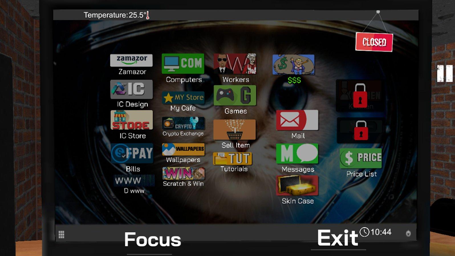 Internet Cafe Simulator скачать 1.4 APK на Android