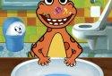 Dr. Dino -Bath, dress & potty - Joy Preschool Game