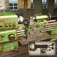 Lathe Machine 3D: Milling & Turning Simulator Game