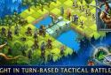 Heroes of War Magic.  Turn-based strategy