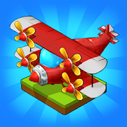 Merge Airplane: Cute Plane Merger