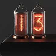 Quasar IN-8: Nixie Clock Widget