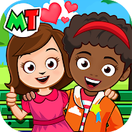 My Town : Best Friends' House games for kids