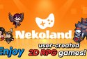 Nekoland: 2D MMORPG created by users