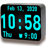 Huge Digital Clock Pro