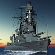 Warship Fleet Command : WW2 Naval War Game