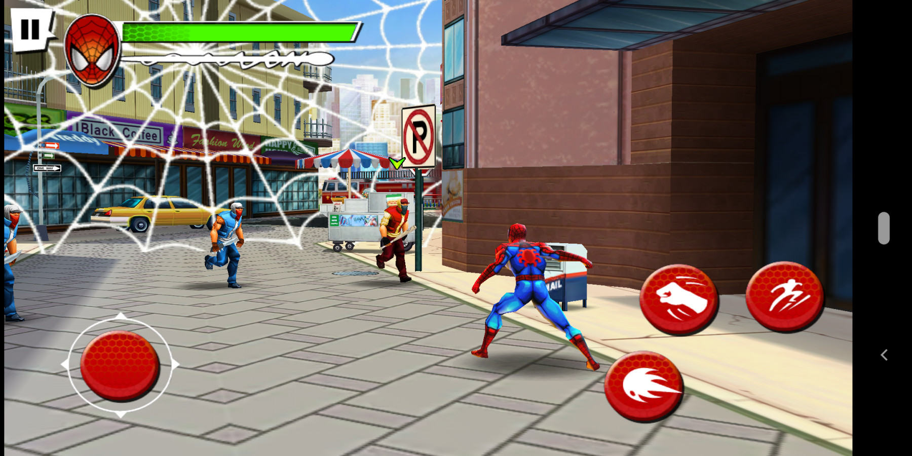 Spider-Man Total Mayhem HD APK v1.0.8 6