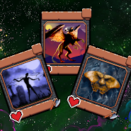 Astral Tournament: card game