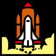 Land the rocket: speedrun arcade