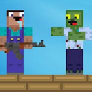 Нуб против зомби