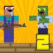 Noob vs zombie 2: Shooting Game 2021