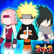 Stickman Ninja - 3v3 Battle Arena