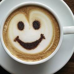 Горяченький кофеёк