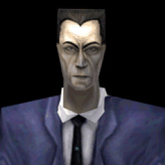 Gman from hl1 and hl2